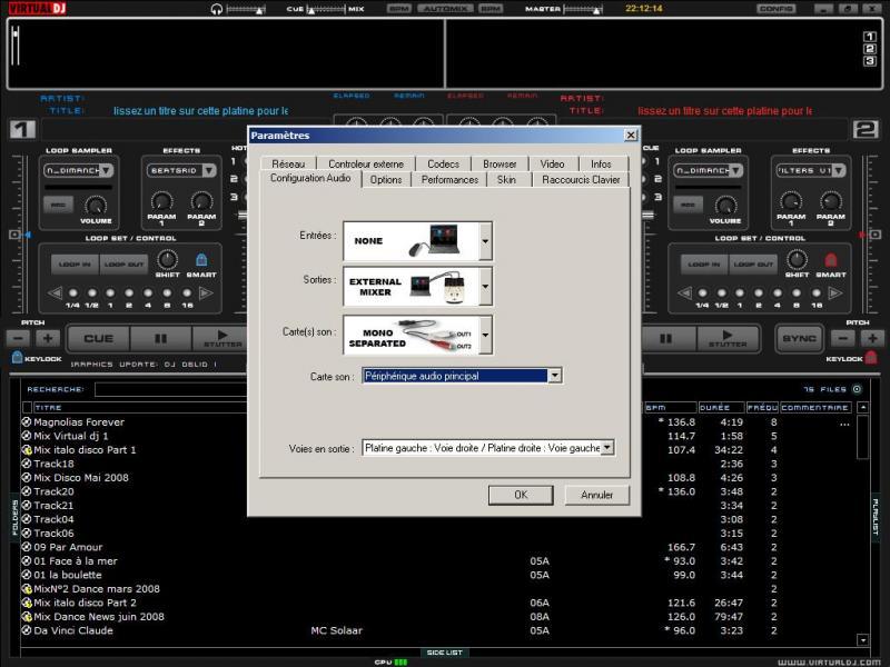 virtual dj software cherche conseils pour vdj pro pc portable table mixage externe. Black Bedroom Furniture Sets. Home Design Ideas