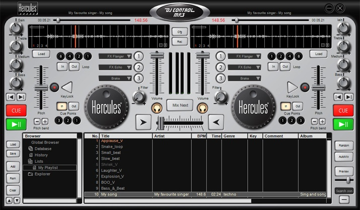 Virtual Dj Software Request For Build A New Skin
