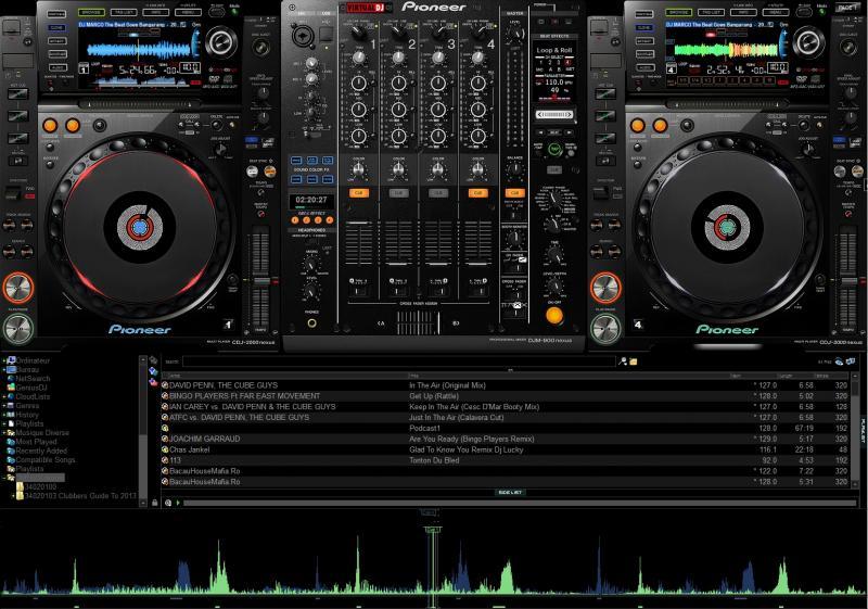skins pioneer cdj 2000 djm 900 nexus virtual dj