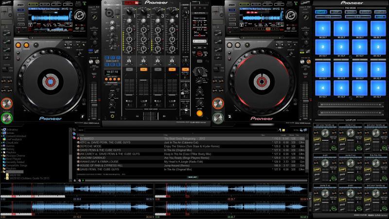 Virtual dj skins samples.