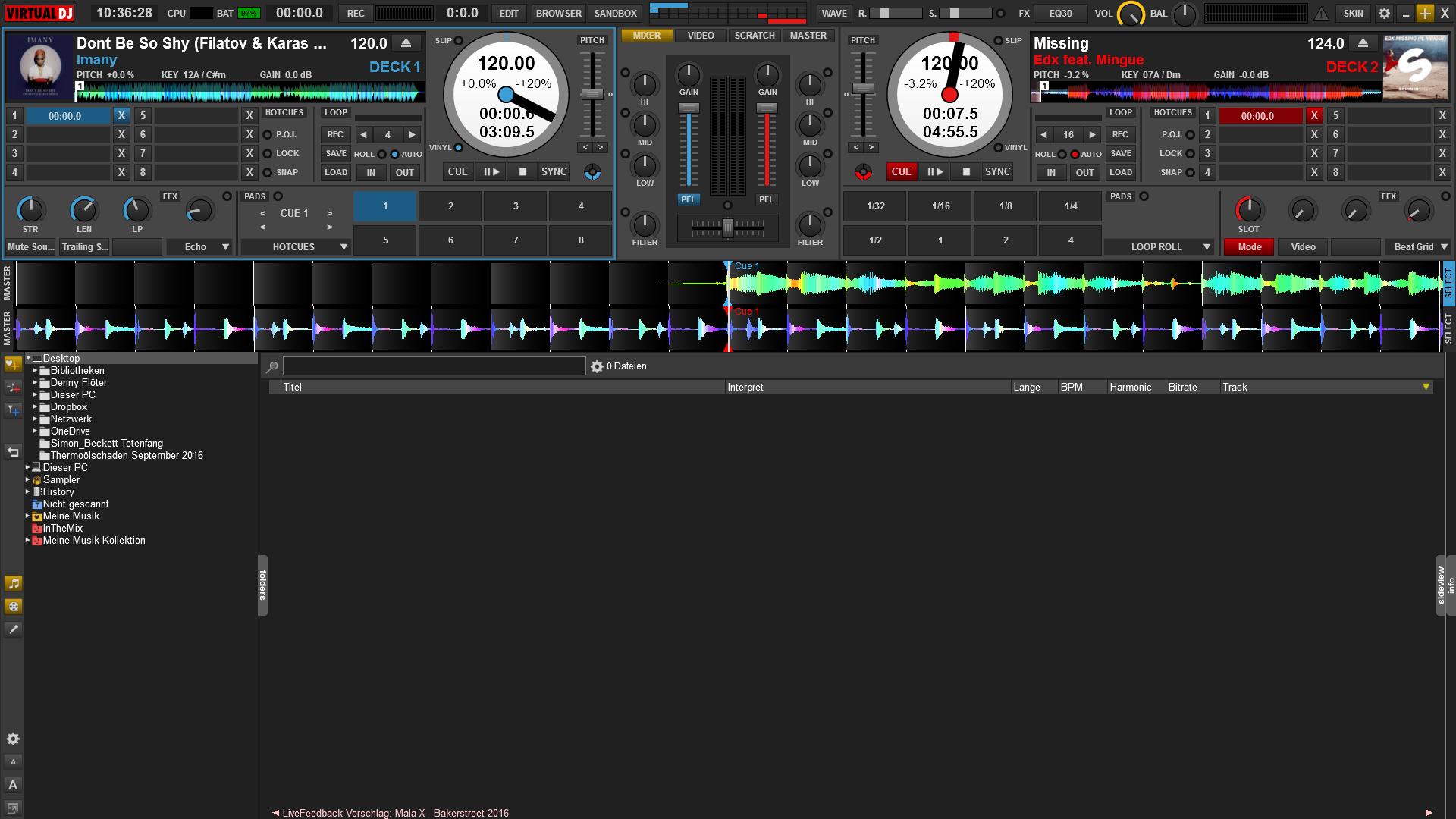 virtual dj 8 karaoke skin