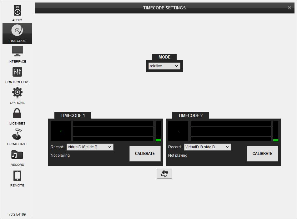 DJ Software - VirtualDJ - Pioneer DDJ-SX2 - Timecode Inputs
